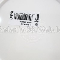 (Dijamin) Piring Melamin 1809 GLN01 - Onyx