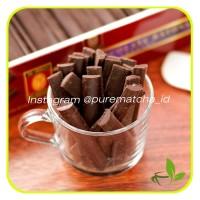 Chocolate Couverture Batons Coklat Sticks Tulip EOC 52% COCOA 100 gr