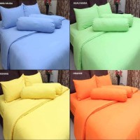 Sprei Polos Rosewell uk Single Bahan Katun Microtex