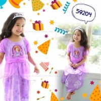 Jual Baju Anak Dress Piyama Anak PIPO Sofia 1 6 tahun Termurah TRENDI Eklu Murah