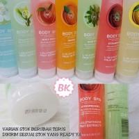 Jual Dijual Body Shop Bodyshop Peeling Gel Spa / Bodyspa New 400Ml Murah Murah