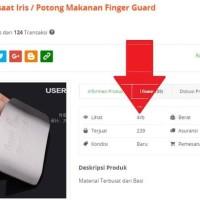 Jual Finger guard Pelindung jari saat mengiris iris potong makanan - HKN044 Murah