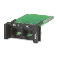 APC Surge Protector PNETR6 Module Network Cat5 Cat6 Gigabit