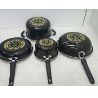 Panci Set Cookware Set GSF-1831 Panci Enamel Murah Panci GSF Wajan Set