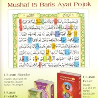Al QuranKu 15 Baris Ayat Pojok Standar