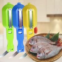Jual kualitas bagus Pembersih Sisik Ikan+Pisau Gen 2 Murah