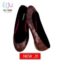 Jual harga grosir Cathine Sofia Purple Sepatu Wanita Flat Murah