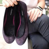 Jual special Cathine Sofia Black Sepatu Wanita Flat Murah