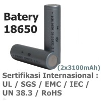 Jual Eser Charger Baterai 18650 & Powerbank Console Eagle 8 + 2pc 3100mAh Murah
