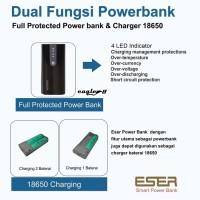 Jual Eser Charger baterai 18650 & Console powerbank earphone & tablet Egl8b Murah