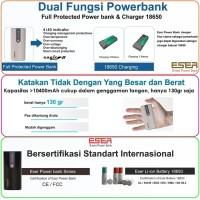 Jual Eser Eagle8 12400mAh powerbank earphone, Hp, tablet & 5V device 124BS Murah