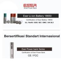 Jual Eser Baterai Bisa Diganti 70gr powerbank 3100mAh 1.2A output (LU31TW) Murah