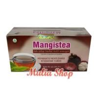 Jual terbatas Mangistea - Teh Celup Herbal Kulit Manggis Tazakka Murah