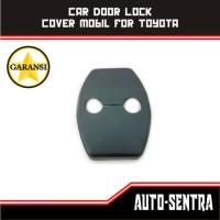 Jual Car Door Lock Cover Mobil for Toyota Avanza Veloz Agya Innova Fortuner Murah