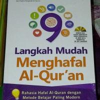 Islam 9 Langkah Mudah Menghafal Al-Quran, Buku cara Hafal Alquran