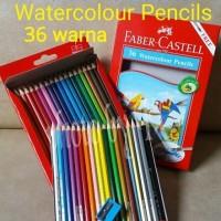 Jual ATK0096FC isi 36 warna Watercolour Pencil Faber Castell 114466 Cat Air Murah