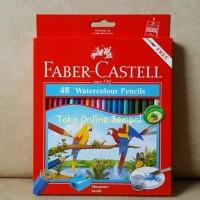 Jual ATK95FC 48 warna Watercolour Pencil Faber Castel 114468 Pensil Cat edu Murah