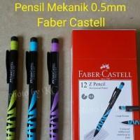 Jual ATK0104FC Z Mechanical Pencil 0.5 Faber Castel Pensil Mekanik 133612 Murah