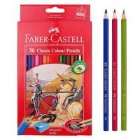 Jual ATK0080FC 36 warna Classic Colour Pensil Warna Faber Castell 115856 TK Murah
