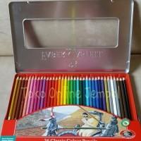 Jual ATK110FC ( 36 warna Kaleng Classic Pencil 115846 Faber Castell Tin Cas Murah