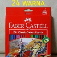 Jual ATK0081FC 24 warna Classic Colour Pensil Warna 115854 faber castell SD Murah