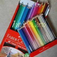 Jual ATK0079FC 48warna Classic Colour Pensil Warna Faber Castell 115858 Murah