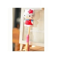 Jual (Murah) Penutup Sikat Gigi Hello Kitty Toothbrush holder Murah