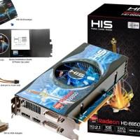 Murah Hari Ini - His Radeon Hd 6850 Fan 1Gb Gddr5