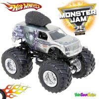 Hotwheels MONSTER JAM Team Flag - Mohawk Warrior Hot Wheels Ori Mattel