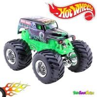 Hotwheels MONSTER JAM Team Flag - Grave Digger Hot Wheels Ori Mattel