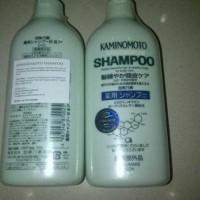 Jual KAMINOMOTO MEDICATED SHAMPOO, Solusi Meminimalkan Kerontokan Rambut Murah