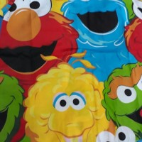Baju Tidur Anak Perempuan Laki Laki Unisex Elmo Katun Piyama S