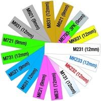 BEST SELLER - Brother Label Tape MK-231 12mmx8m Black on White MK231