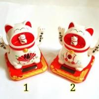 Jual MANEKI NEKO JAPAN LUCKY CAT CHINESE LUCKY CHARM KUCING KEBERUNTUNGAN Murah