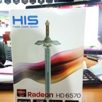 VGA HIS Radeon HD 6570 2GB DDR5 128 BIT