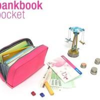 Jual AYO Promo!!!, bank book dompet organizer buku tabungan uang kertas Murah