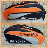 Jual tas raket badminton yonex R3 Murah