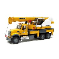 Bruder Toys 2818 - Bruder Mack Granite Liebherr Crane Truck