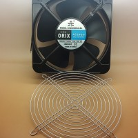 Kipas Fan panel ORIX AC 220V 20x20 cm with Ball Bearing Made TAIWAN