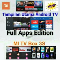 Jual Xiaomi Mi Box 3S Pro w/ Playstore Android Smart TV (Full Apps Edition) Murah