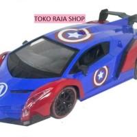 Jual Mainan Mobil Remote Control Captain America Murah