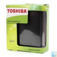 HARDDISK EXTERNAL TOSHIBA CANVIO 2TB BNIB murahhhh