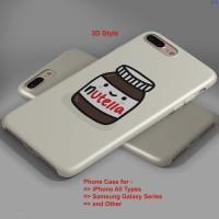 Jual Kawaii Nutella hard case,iphone case semua hp Murah