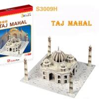 Mainan 3d Puzzle - CubicFun - Mode S Series - Taj Mahal