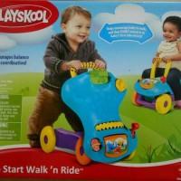 playskool mainan anak belajar jalan walk n ride asli murah