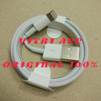 Jual KABEL DATA LIGHTNING USB CHARGER IPAD IPOD IPHONE 5 5S 6 6S ORI CABLE Murah