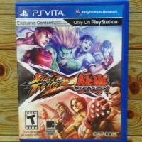 Jual Street Fighter X Tekken PS Vita Murah