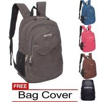 Jual Real Polo Tas Ransel Kasual [ Free Bag Cover] Murah