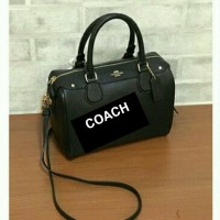 TAS COACH CROSSGRAIN MINI BENNET BLACK ORIGINAL