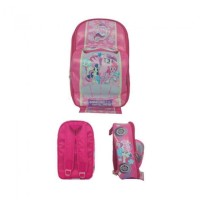 Car Shaped Bag Pack - fuchsia adventure little pony